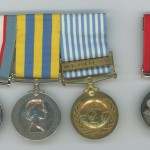 Edward Campbell's medals