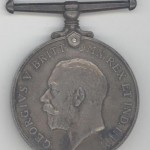 Private Buckley medal (engaged to John Parkin's sister Beatrice)