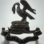 Walter Jaundrill Pals cap badge