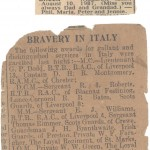 Newspaper clippings for William Green