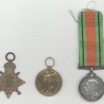 Walter Jaundrill medals