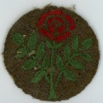 Harold Abraham Lancashire rose patch