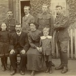 Harold Abraham billeted with French family