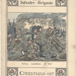 Harold Abraham Christmas card 1917