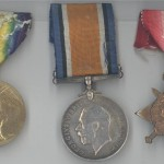 Thomas H Bishop medals front