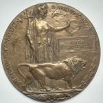 Walter Jaundrill memorial plaque